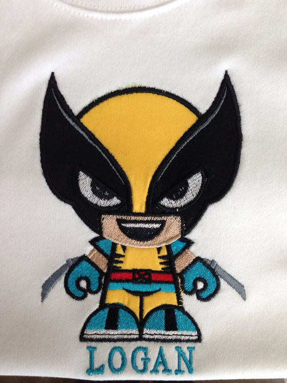 Wolverine Shirt Around Personalize It On Etsy 22 00