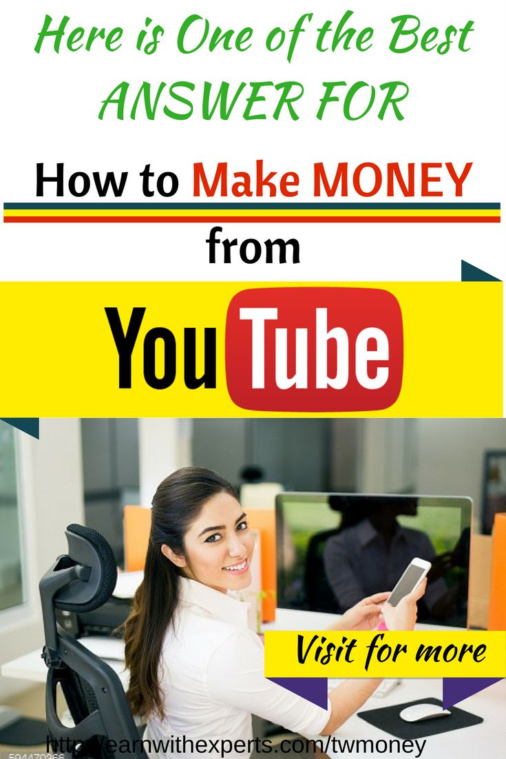 How to make money from youtube. Here is the best answer for this question. Simplest guide to make money from youtube and start making money online. Click the link to for more >>>