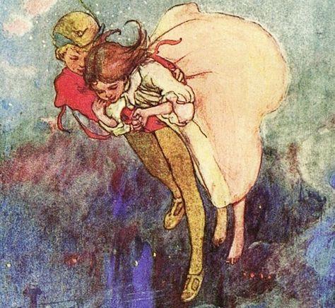 El síndrome de Peter Pan y Wendy