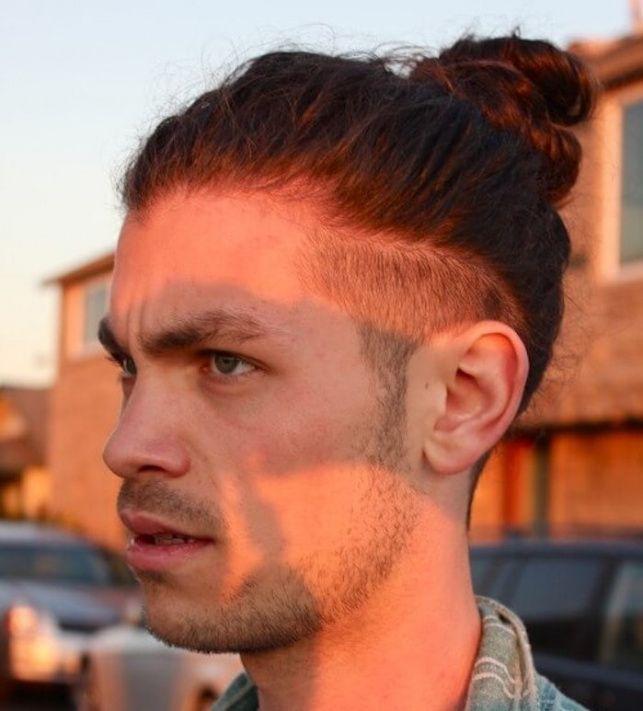 lange haare undercut manner - frisur