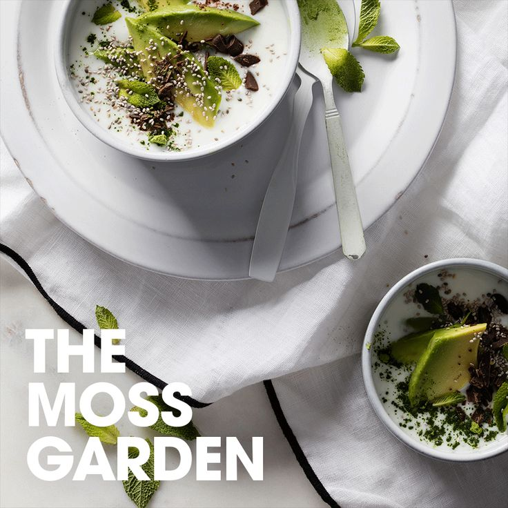 The moss garden #kefir #matcha #tea #chocolate #avocado #mint #recipe #drink #bowl #yum