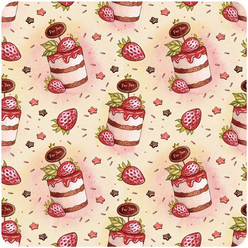 holiday patterns by Natalia Tyulkina, via Behance