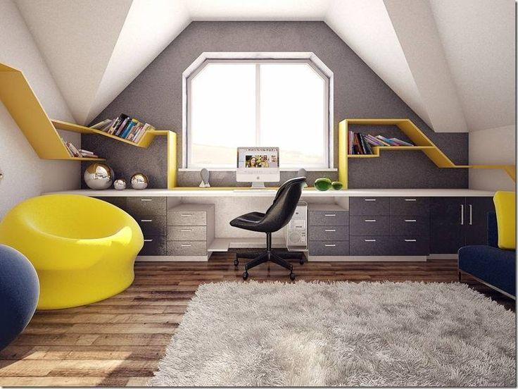 Творческие спальни для подростков