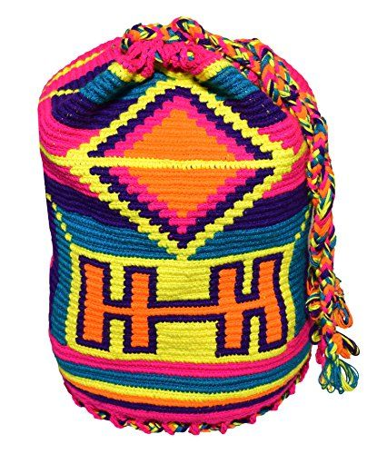 Wayuu Mochila Backpack MW-6365 Across The Puddle   LOVE the idea of a backpack. would love it in more muted colors...