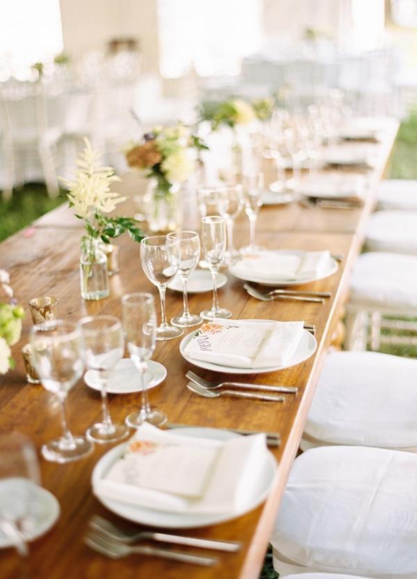 Outdoor New York Wedding Reception