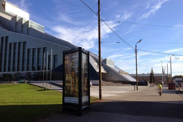 Visit The National Library of Latvia also known as Castle of Light, for huge collection of unique books and the great view of #Riga Old Town.