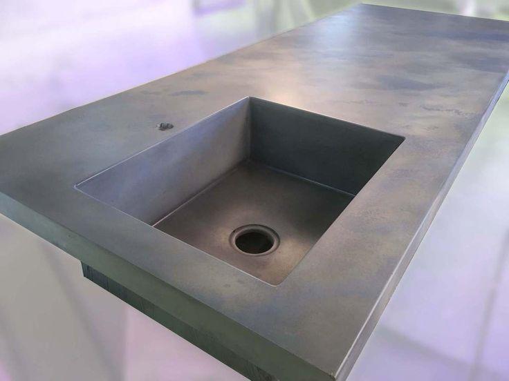 62 best cuisine béton léger bfuhp ductal images on Pinterest - faire une dalle en beton exterieur