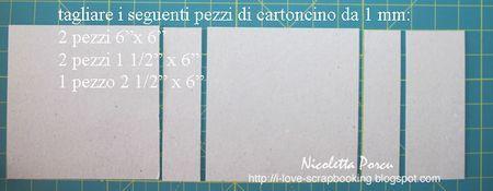 """Tutorial TUTORIAL ALBUM TRI-FOLD """"Ricordi indimenticabili"""" di Nicoletta Porcu -http://i-love-scrapbooking.blogspot.com Materiali : - cartoncino da 1 mm - 6 carte patterned double face abbinate - 1 foglio di bazzil da utilizzare per mattare le foto - 3, 5 mt di nastro - abbellimenti a piacere Attrezzature: - Border punch - Cutter - Glue glider pro - Nastro biadesivo largo - Nastro biadesivo da ½"""" - Nastro biadesivo da ¼"""" - Scor-pal - Crop-o-dile big bite Partendo dal cartoncino, iniziamo…"""