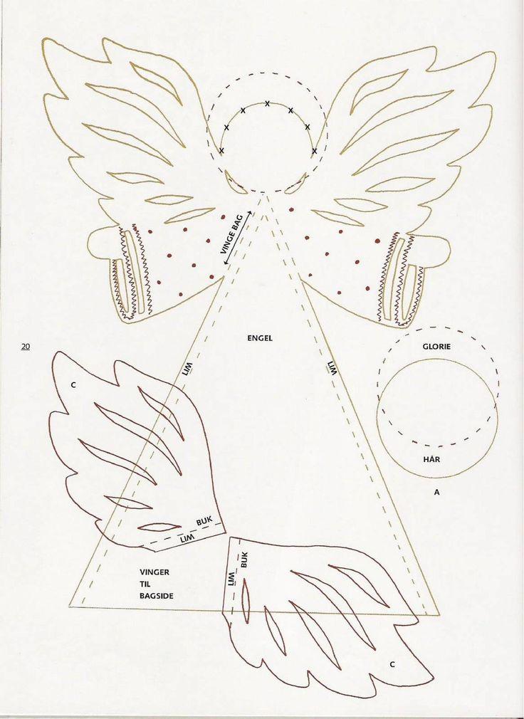 Открытка своими руками ангелочек