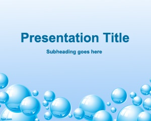 Life PowerPoint template is a great PowerPoint design for H2O templates in PowerPoint as well as water conservation PowerPoint templates or other presentations related to water and life