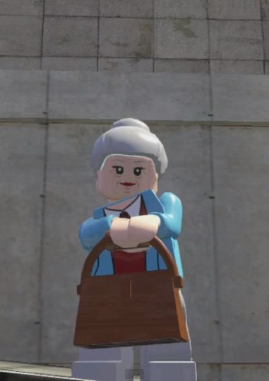 May PARKER (AUNT MAY) | Earth 13122 | Lego Marvel SUPER HEROES