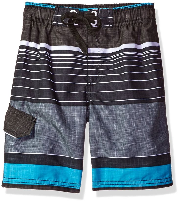 Amazon.com: Kanu Surf Boys' Viper Stripe Swim Trunk: Clothing