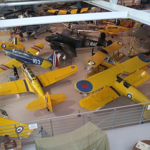 Canadian Warplane Heritage Museum in Mount Hope, ON