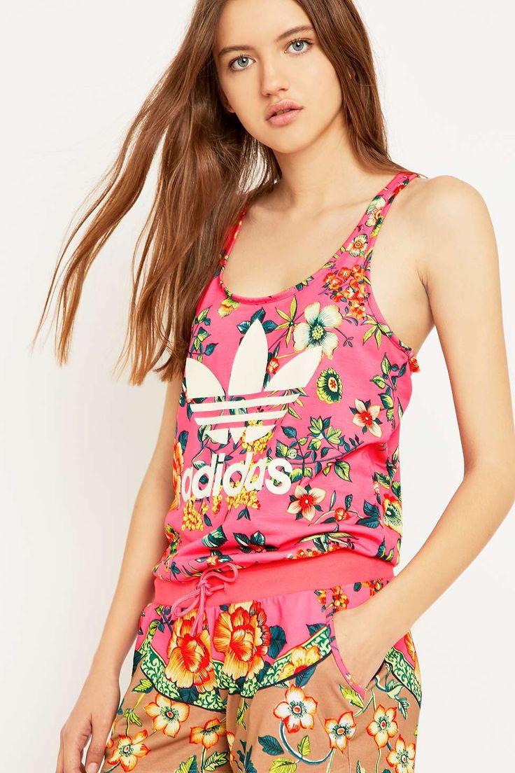 adidas Originals x Farm Pink Playsuit