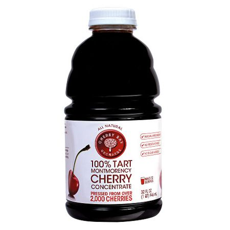 100% pure Montmorency Tart Cherry Juice Concentrate.  Free of artificial flavors, colors, or additives and contains all natural ingredients.