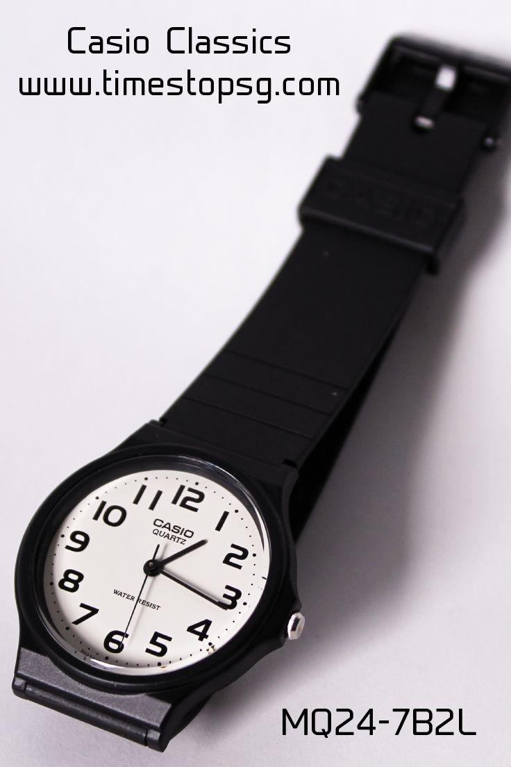 Casio Europe Mq 24 1b2 Jam Tangan Pria Black Gold Strap Rubber Digital F 91w 3dg Classic Watch 7b2 White
