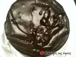 Γλάσσο σοκολάτας με κακάο -εύκολο!