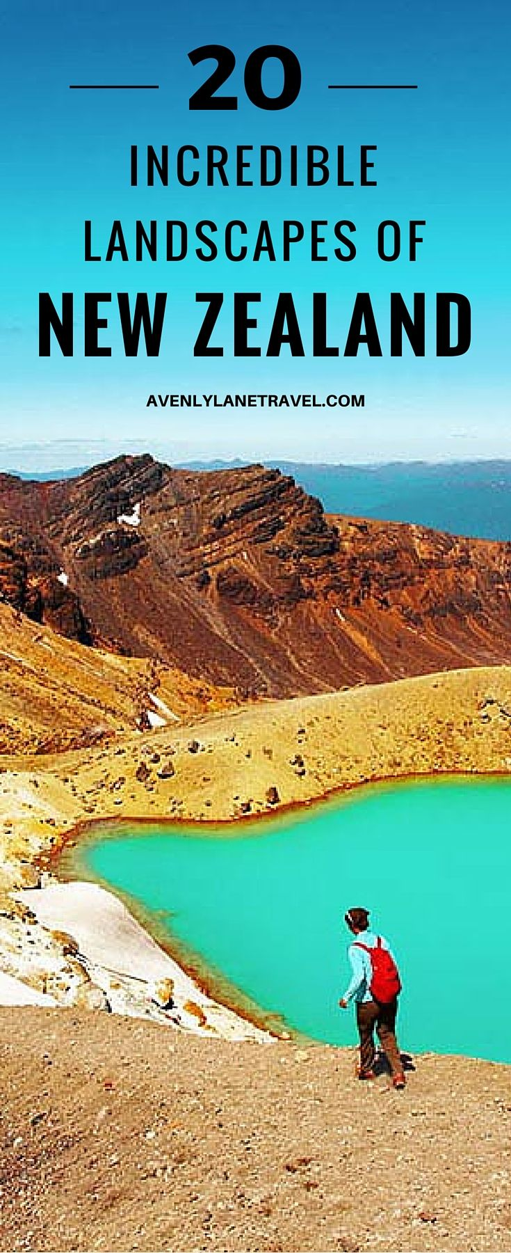 20 Incredible Landscapes You Can Only Find In New Zealand! The Tongariro Alpine Crossing is a perfect day hike in the North Island's Tongariro National Park. This park is famous for volcanic activity, its beautiful Emerald Lakes, and Maori religious sites.