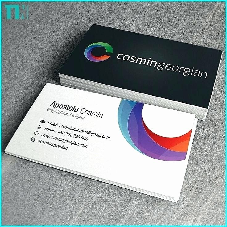 50 Fresh Blank Business Card Template Psd In 2020 Printing