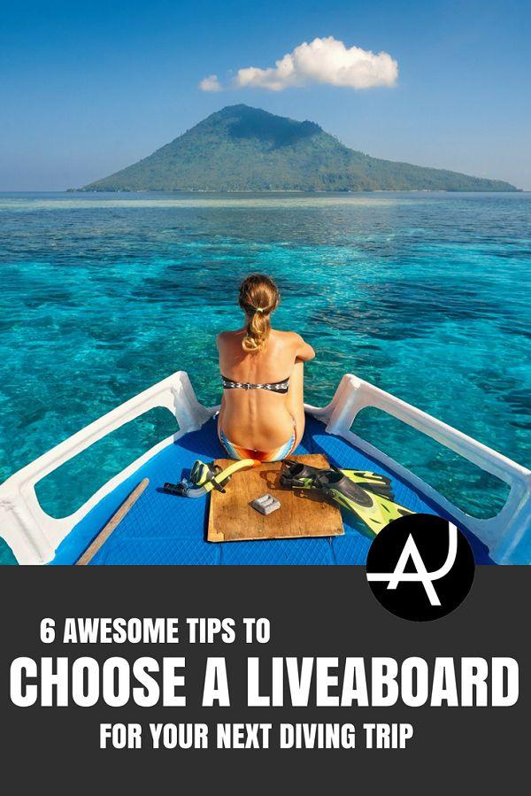 Tips to Choose a Liveaboard - Best Scuba Diving De… #scubadivingequipmentwetsuit #scubadivingvacations