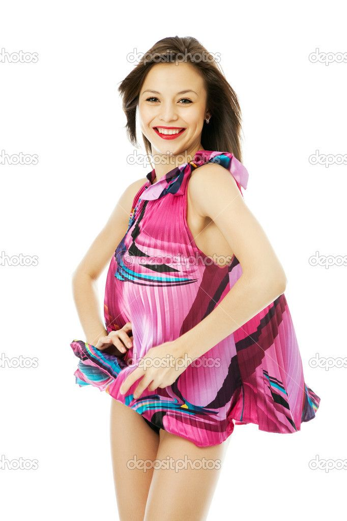 blown dress