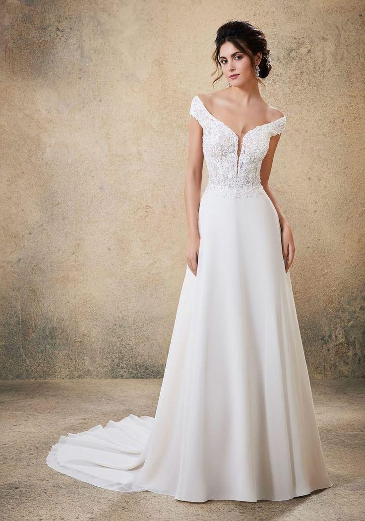 Blu by Mori Lee Raelynn in 2020 Wedding dresses, Bridal