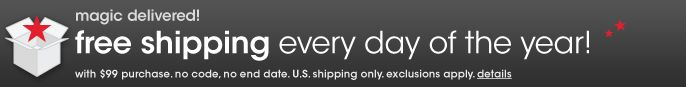 Free Shipping Everyday of the Year