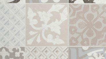 Gerflor TEXLINE® PVC Vinyl Bodenbelag - 1955 Provence Creme Linoleum Rolle Fußbodenbelag Vinylbahnen Steindekor, Fliesenoptik