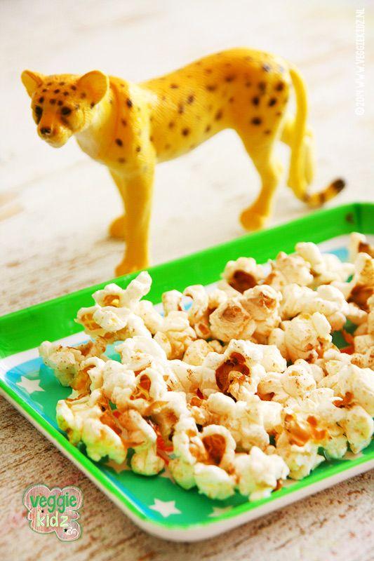 zoete popcorn met kaneel