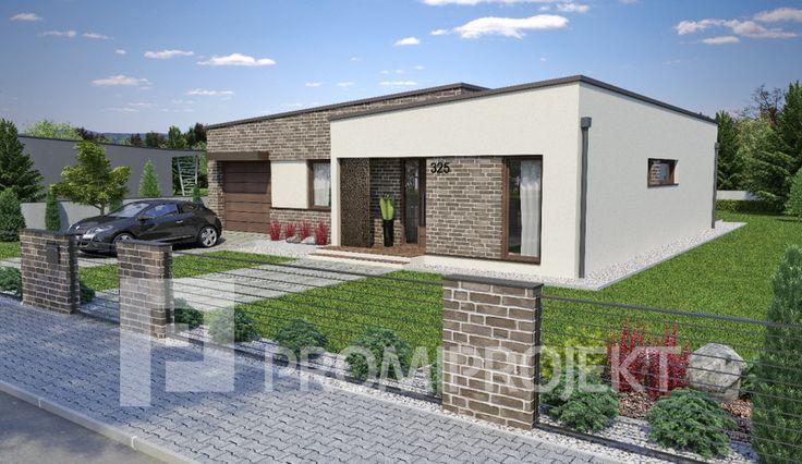 Promiprojekt s.r.o. - katalogové projekty rodinných domov - Linear 325