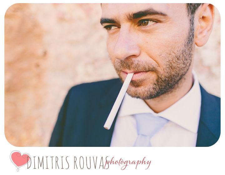 """""""Foxy"""" Stavros Portrait. What a guy!! Sotiria&Stavros Wedding."""