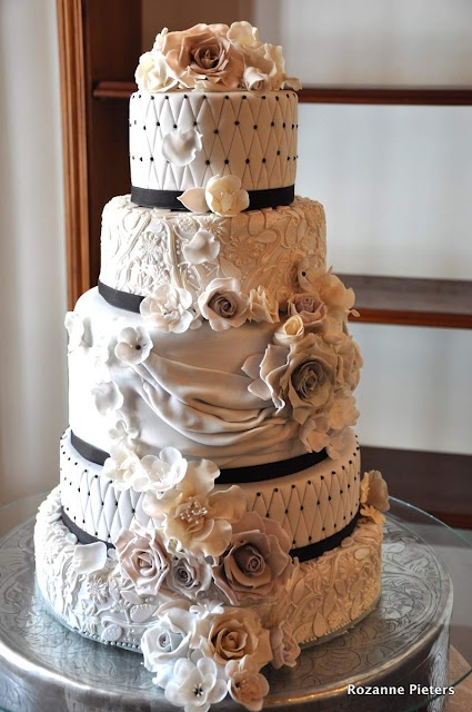 awesome wedding cake 93 best images about cake fabric folds on 10984