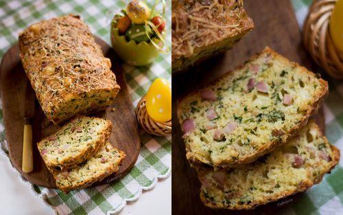"""""""Anya, ez isteni!..."""", avagy Gabojsza konyhája: Sonkás, medvehagymás húsvéti kenyér"""