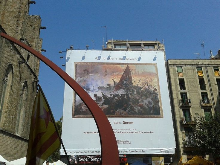 1714-1914 !!*!! September 11th Fossar de les Moreres.300hundred years remembrance.