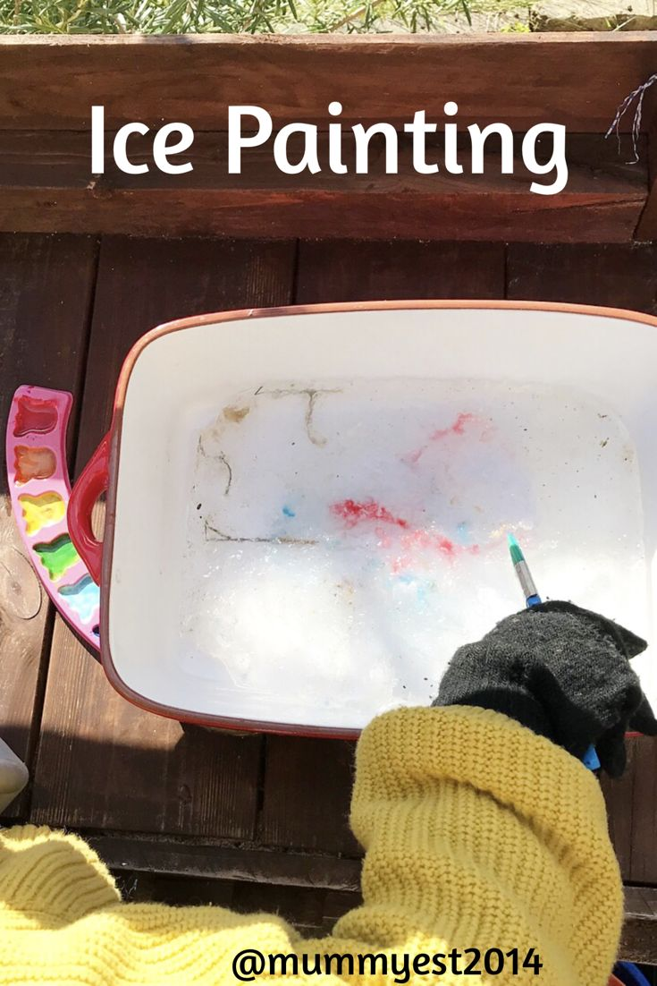Is your child just not interested in Mark making, drawing, painting? Or are they hugely creative and you want to extend their experiences? Painting on ice is fun, fascinating and less messy then regular painting... https://mummyest2014.wordpress.com/2018/02/26/5coldweatheractivities/