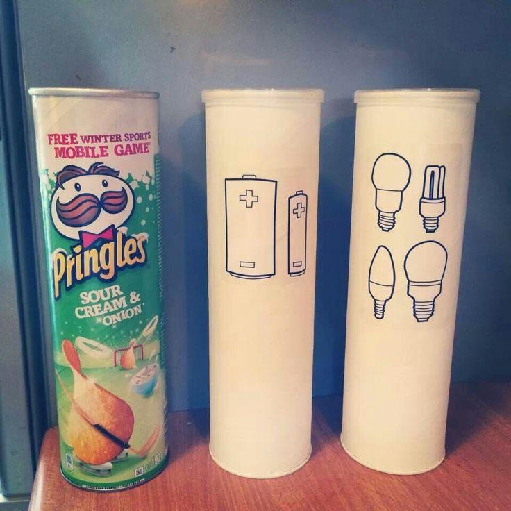idéer för roligare sortering-batterier och glödlampor