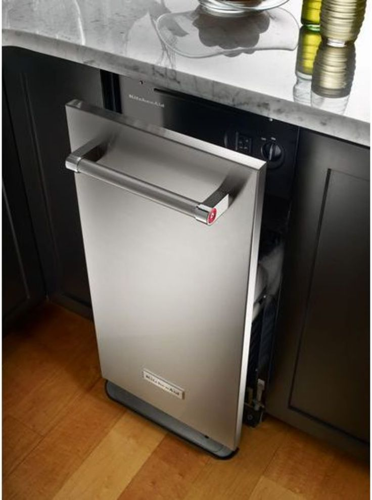 Ktts505ess by kitchenaid fully integrated trash