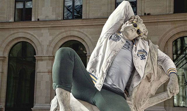 Classic Statues Get the Hipster Treatment
