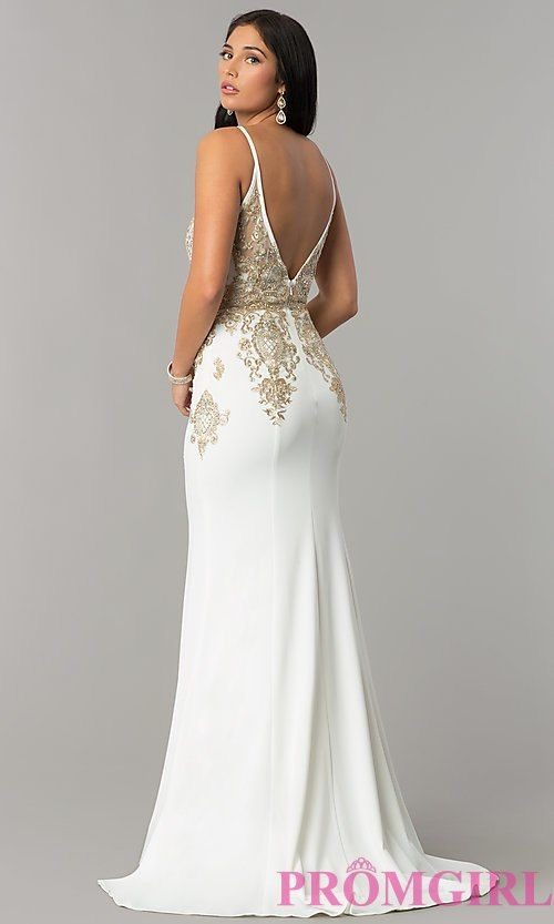 Long Open-Back Prom Dress from JVNX by Jovani  64a7af046