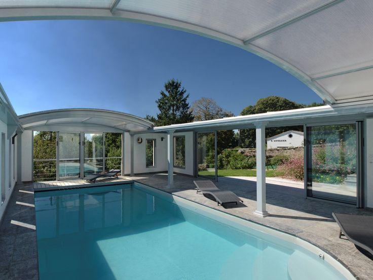 34 best piscine images on Pinterest Pool spa, Pools and Backyard pools - constructeur maison hors d eau hors d air