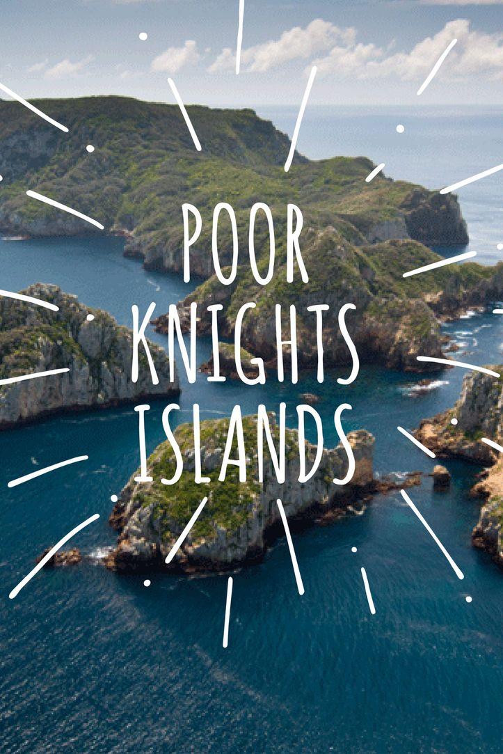 Poor Knights Island - Nowa Zelandia. Najpiękniejsze miejsce do nurkowania!