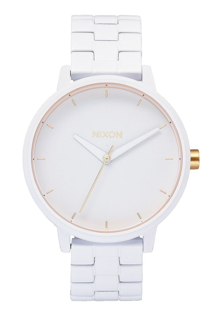 I love how simple this watch is and I want it in various colors.  Kensington, All White / Gold