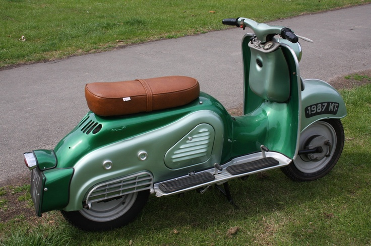 32 Best Images About Classic Scooters On Pinterest Motor