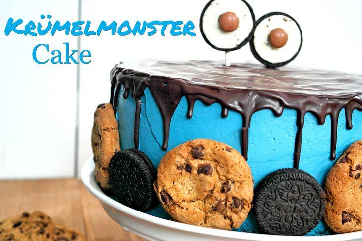 Krümelmonster Cake-Cookie Cake- Keks Kuchen