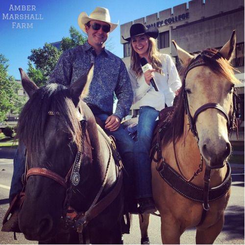 Amber at the Calgary Stampede Parade