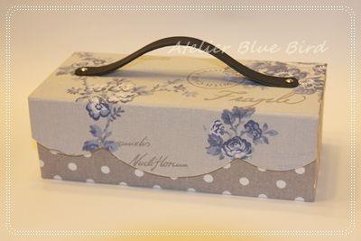 ☆Blue Bird☆cartonnageからの贈り物