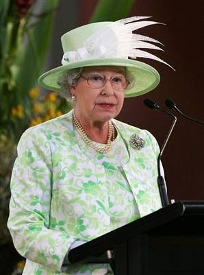 The Queen's always wearing a good hat.  Well, ok...The Queen is always wearing a hat.  Sometimes they really are wonderful hats.  :-)