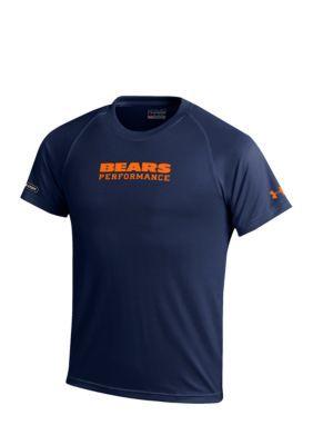 Gear For Sports Boys' Chicago Bears Nfl Wordmark Blue Tee Boys 8-20 -  - No Size