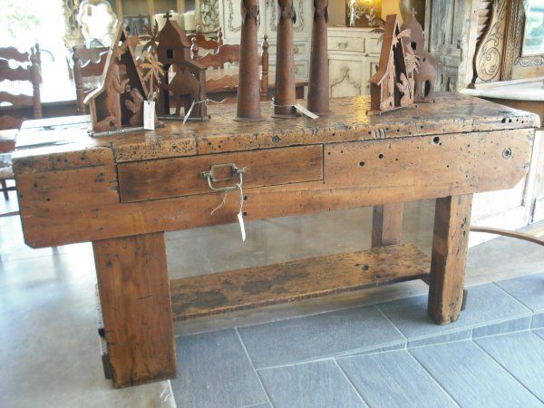 Antique and contemporary industrial furniture : Country Trader, Greytown, Wairarapa