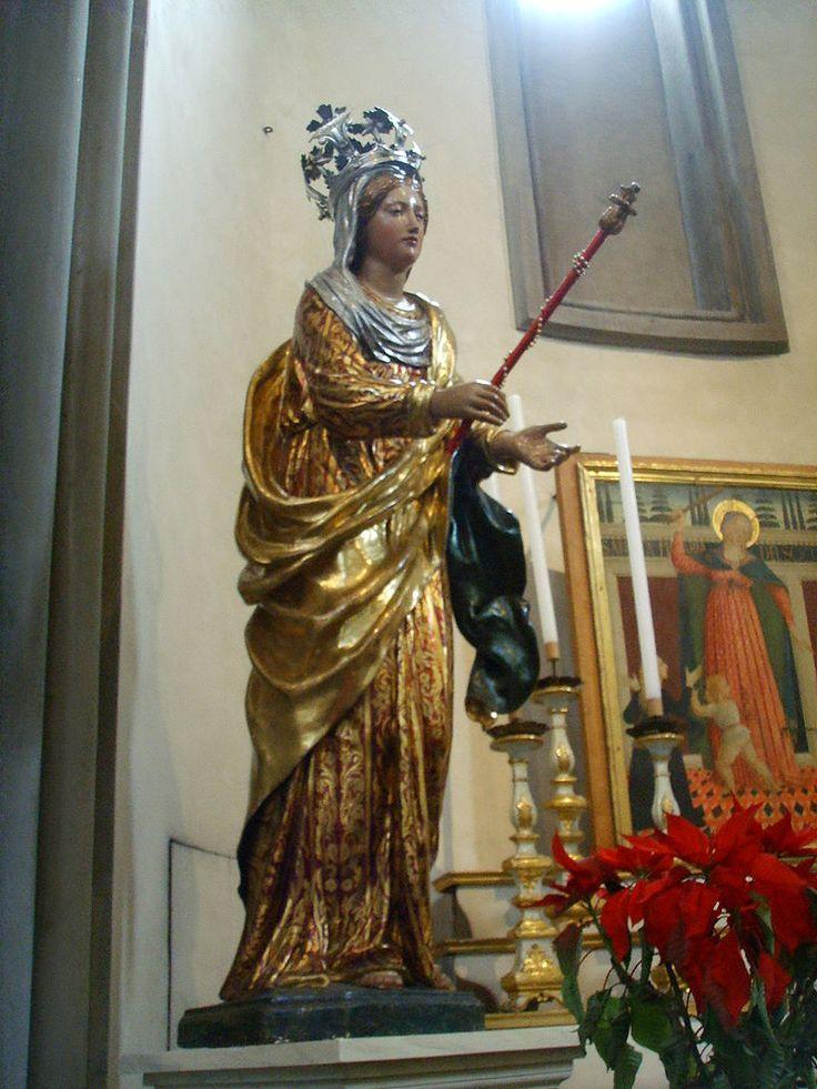 Santo spirito, cappella velluti, berruguete, madonna lignea 02 - Category:Santo Spirito (Florence) - Interior - Wikimedia Commons